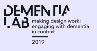 Laat u zien op het Dementia Lab 2019 – Dien uw bijdrage in!
