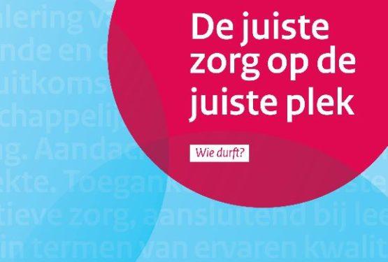 Juiste Zorg op de Juiste Plek: Vouchers voor inzet expertise bij opstellen gedeelde beeld in de regio beschikbaar