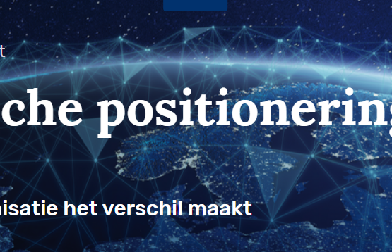 Strategische positionering in de zorg