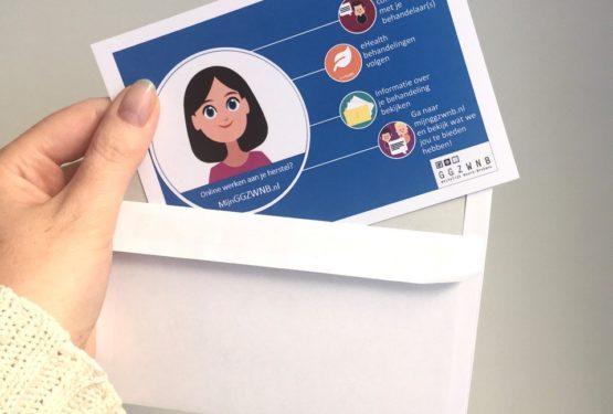 Innovatie in beeld: Kleurrijke ansichtkaarten promoten cliëntenportaal en -servicepunt