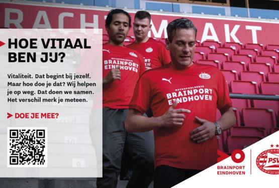 Brainport Eindhoven & PSV lanceren vitaliteitsplatform